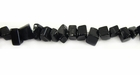 Obsidian Chip Beads 5-7mm