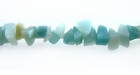 "Natural Amazonite Chip Beads 5-8mm (36"")"