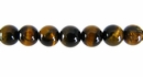 Tiger Eye Round Beads 6.5mm