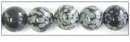 Snow Flake Obsidian Round Beads 10mm