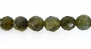 Labradorite Faceted Round Beads 8mm