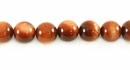 Red  Round  Goldstone Beads 8mm