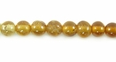 Hessonite Round Beads 4mm