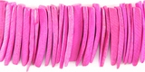 Pink Coco Tusk Beads 26-28mm