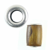 Robles Tube Wood Beads 10x15mm