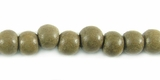Round Graywood Beads 6mm