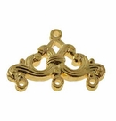 Gold Plated 3 To 1 Ring Ends 25x16mm