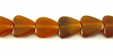 Golden Horn Heart Beads 10mm