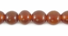 Golden Horn Round Beads 8mm