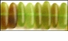 Green Stick Horn Beads 5x10mm