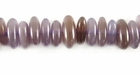 Purple Stick Horn Beads 5x10mm