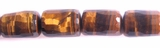 Tiger Eye Faceted Tube 10x14mm