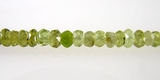 Grossular Garnet Faceted Beads
