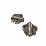 Thai Silver Butterfly Design Beads