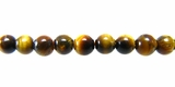 Tiger Eye Round Beads 4.5mm