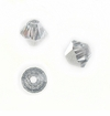 Swarovski Beads Bicone Crystal Comet Argent Light 5301