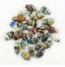 Assorted Large Bicone Paper Beads