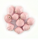 Light Pink Bicone Paper Beads 6-10mm