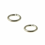 Sterling Silver Jump Ring 6mm, Open Ring