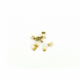 Gold Crimp Tube Size #3