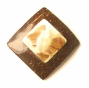 Coco & Mother Of Pearl Square Pendants