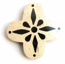 White Coco Cross Pendants