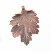 "Copper Shade Electroplated ""Chrysanthemum Leaf"" Pendant"
