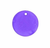 Hammershell Round Purple Shell Beads 25mm