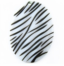 Makabibi Oval With Black Stripes