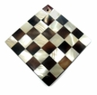 Diamond Troca & Tab Shell Blocking Inlay Pendant 70mm