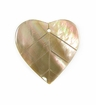 Brownlip Fat Leaf Shell Pendant 25-30mm