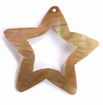 Brownlip Star Shell Pendant 47mm