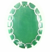 Dyed Green Oval Greenshell Pendant