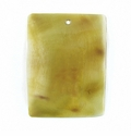 Brown Pen Rectangular Shell Pendants