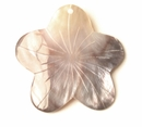 Hamershell Flower Shell Pendants 50mm