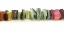 Multicolored Crazycut Hammershell Beads 5-7mm
