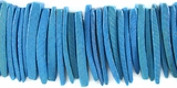 Turquoise Coco Tusk Beads 26-28mm
