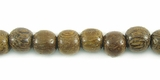 Round Robles  Wood Beads 6mm