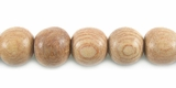 Round Rosewood Beads 8mm
