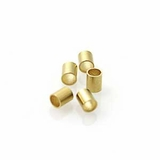 Gold Crimp Tube Size #4