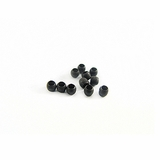 Black Crimp Beads 1.5Gr Pack