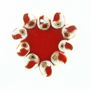 Tapok-Tapok Laminated Red Shell Pendant