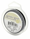Black 40yds Artistic Wire 28 Ga.