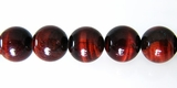 Red Tiger Eye Round Beads 10mm