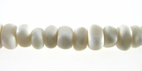 White Nugget Bone Beads 5mm