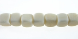 White Dice Bone Beads 5mm