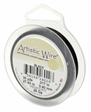 Black 15yds Artistic Wire 20 Ga.