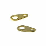 Gold Plated Tags 3x8mm