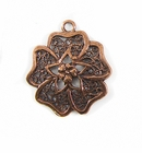 Metalcast Copper Clover Pendant