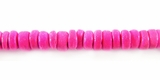 Pink Round Coco Beads 4-5mm
